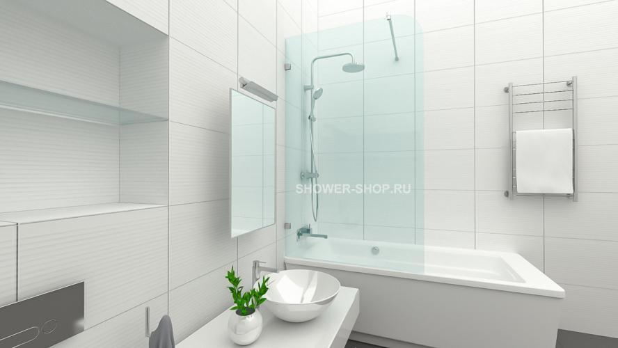 Шторка на ванну №105